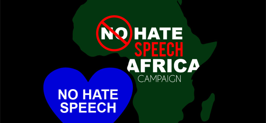 No Hate Speech Africa Campaign
