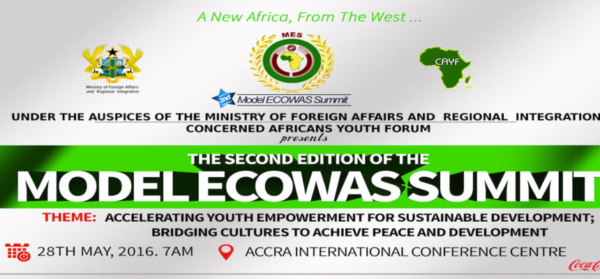 CAYForum Present 2nd Edition Of Model ECOWAS Summit